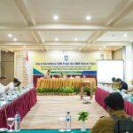 Rapat Koordinasi Dana Bagi Hasil bersama Bappenda NTB