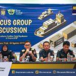 """Bimbingan Teknis terkait """"Fasilitas Fiskal Kepabeanan"""" dan Focus Group Discussion bertema """"Optimalisasi Kemudahan Impor Tujuan Ekspor untuk Industri Kecil dan Menengah (KITE IKM)"""""""