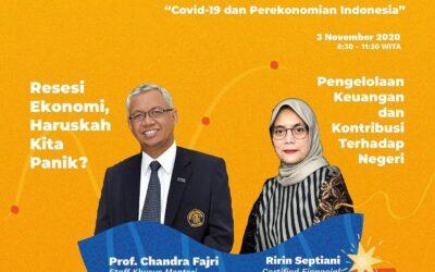 """Seminar Ekonomi Nasional """"Covid-19 dan Perekonomian Indonesia"""""""